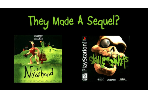 They Made a Sequel? Skullmonkeys (PSX) Review ...