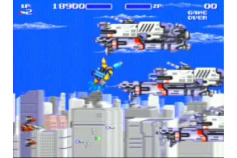 Air Buster Game Sample - Genesis/MD - YouTube