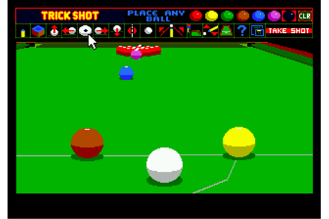 Play Jimmy White's Whirlwind Snooker Sega Genesis online ...