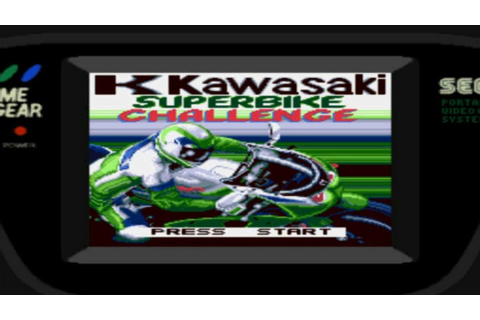 Kawasaki Superbike Challenge - SEGA Game Gear (1995 ...