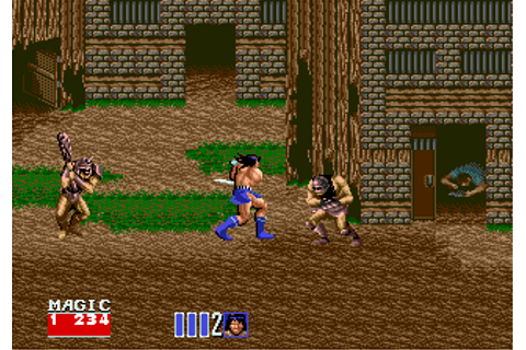 Play Golden Axe II Online - Play Sega Genesis / Mega Drive ...