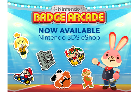 Nintendo Badge Arcade Is Now Available In North America ...