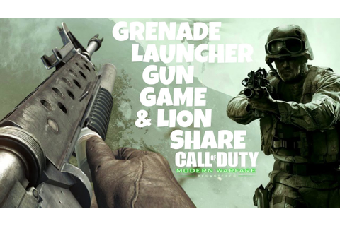Grenade Launcher Gun Game & Other Possible Weekend Warfare ...