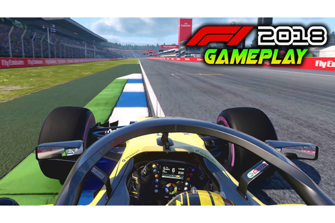 F1 2018 Gameplay at HOCKENHEIM! German GP back in F1 2018 ...