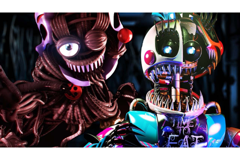 FIVE NIGHTS AT FREDDY'S 6: SISTER LOCATION 2 GAMEPLAY ...