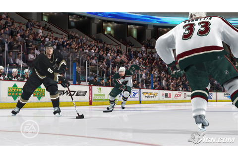NHL 08 Screenshots, Pictures, Wallpapers - Xbox 360 - IGN