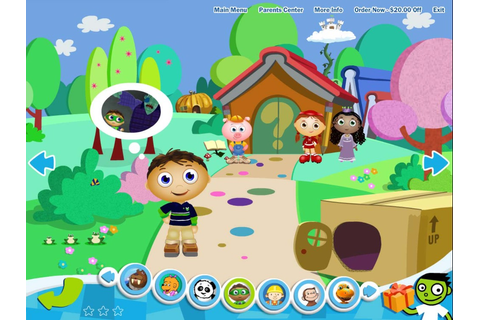 Game: PKP Super Why Games — FableVision Studios