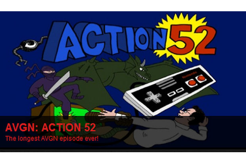 Angry Video Game Nerd reviews Action 52 on NES