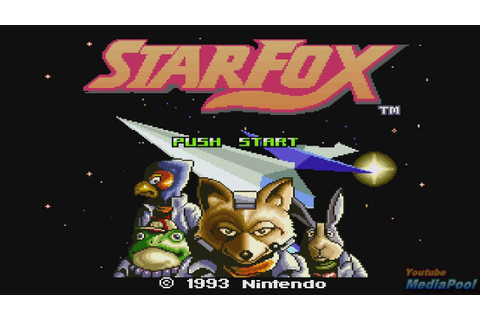 1993 Star Fox (SNES) Game Playthrough Retro game - YouTube