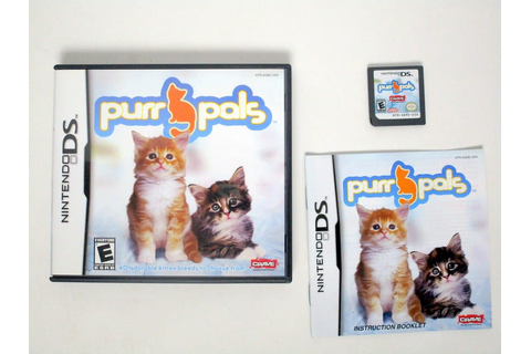 Purr Pals game for Nintendo DS (Complete) | The Game Guy