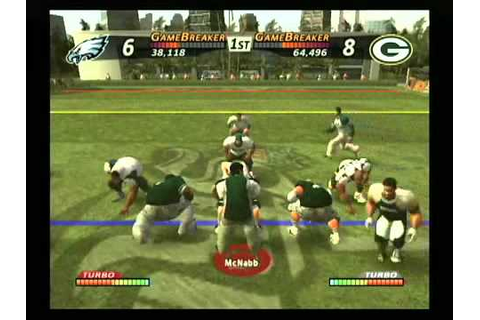 NFL Street GamePlay - YouTube