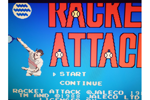 Racket Attack - NES Games - Retro Games - RetroWare Gaming