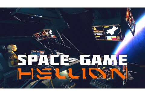 Hellion - New Space Game with Full Newtonian Physics - YouTube