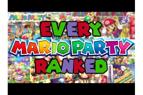 Every Mario Party Game Ranked! - YouTube
