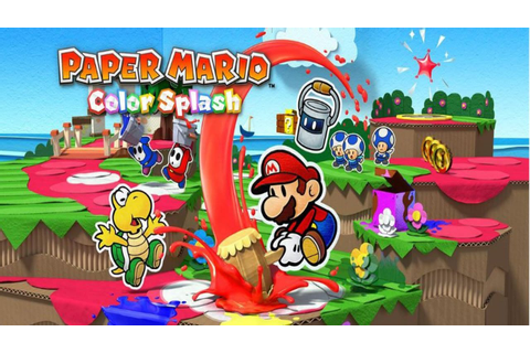Paper Mario Color Splash review - GameLuster