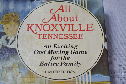 Vintage All About Knoxville Tennessee Board Game 1982 Worlds