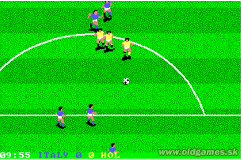World Class Soccer (Italy 1990) :: DJ OldGames