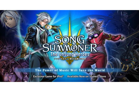 Song Summoner The Unsung Heroes, un RPG Square Enix sur l ...