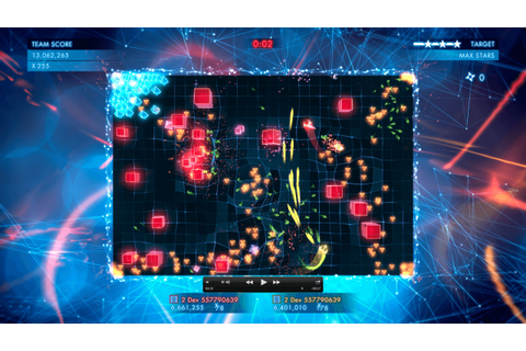 Geometry Wars3: Dimensions Evolved - Media