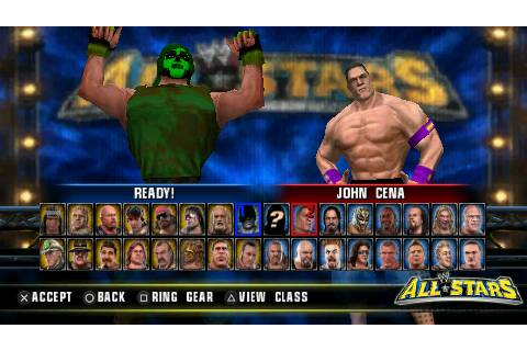 WWE All-Stars Sony PSP | ZTGD: Play Games, Not Consoles