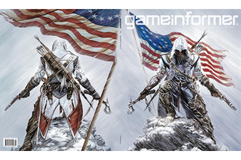 Assassin's Creed III is Game Informer's April cover - Gematsu
