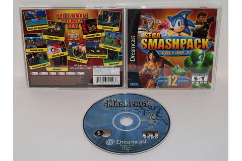 Sega Smash Pack: Volume 1 - Dreamcast Game, Just Go Vintage