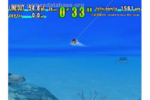 Sega Marine Fishing - Sega Dreamcast - Games Database
