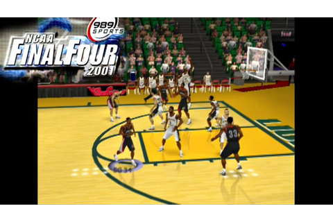 NCAA Final Four 2001 ... (PS2) - YouTube