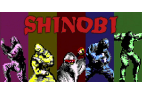Shinobi™ | Virtual Console (Nintendo 3DS) | Games | Nintendo