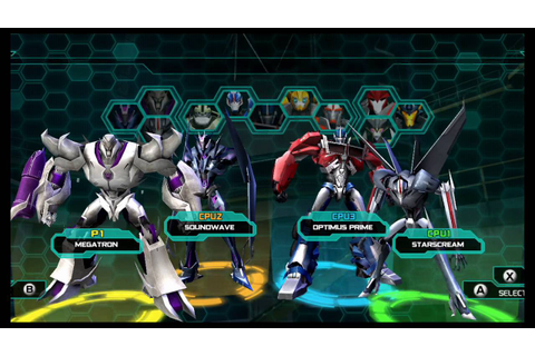 Transformers Prime The Game Wii U Multiplayer part 1 - YouTube