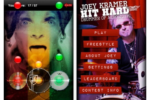 Aerosmith's Joey Kramer Comes To iPhone