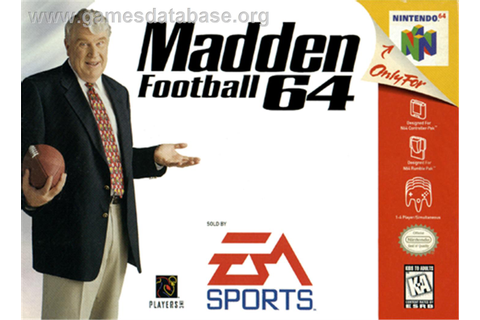Madden Football 64 - Nintendo N64 - Games Database