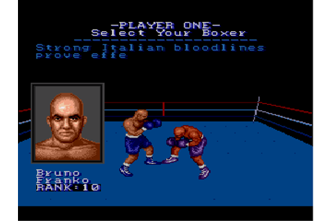 Muhammad Ali Heavyweight Boxing - Download - ROMs - Sega ...