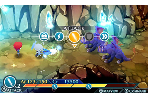 Lord of Magna Maiden Heaven Gameplay Screenshot 3DS Battle System