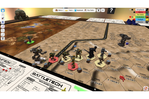 Did You Know? Tabletop Simulator has BattleTech in VR ...