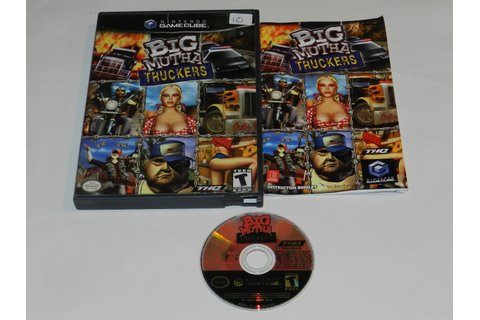 Big Mutha Truckers Nintendo GameCube Video Game Complete 785138380292 ...