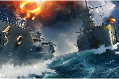 World of Warships - free online warships game, play naval ...