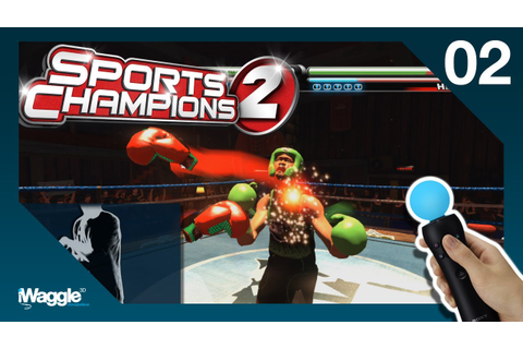Sports Champions 2 PS Move Walkthrough - Part 2/6 [Boxing ...