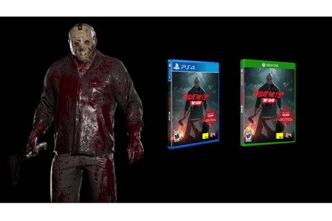 Friday the 13th: The Game Physical Editions Launching with ...