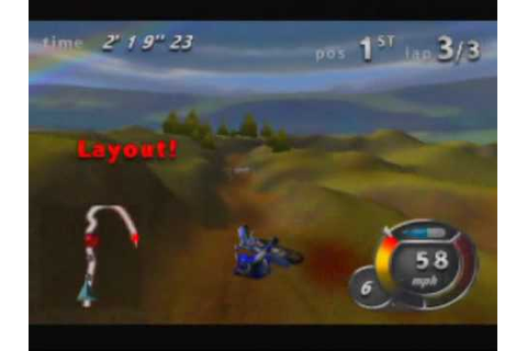 Top Gear Hyper-Bike Game Sample - N64 - YouTube