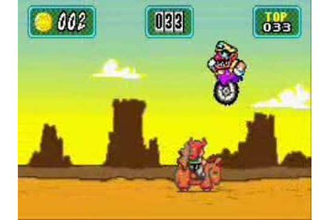 Wario Land 4-Mini games mode - YouTube