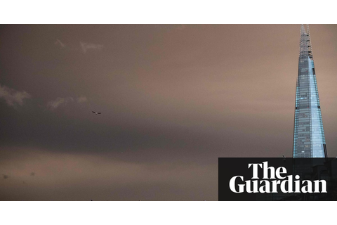 Red skies over London – in pictures | UK news | The Guardian