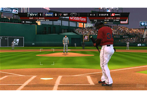 Major League Baseball 2K8 Xbox 360 Gameplay - Papi Takes a ...