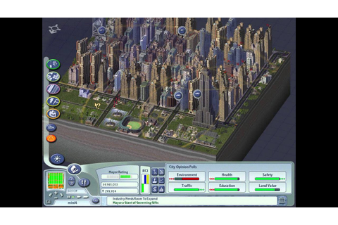 SimCity 4 Rush Hour: Population 290,000+ (no cheat)(Small ...