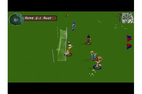 XS Junior League Soccer Arcade Gameplay (Playstation,PSX ...