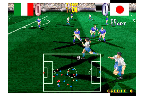 Super Football Champ (1995) by Taito Arcade game