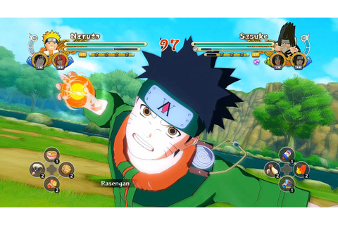 Naruto Ultimate Ninja Storm 3 Full Burst Hunter X Hunter ...