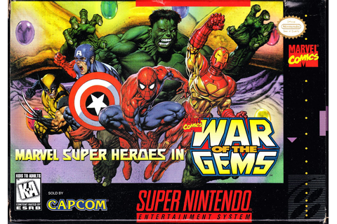 Review: Marvel Super Heroes - War Of The Gems - Snes Paradise