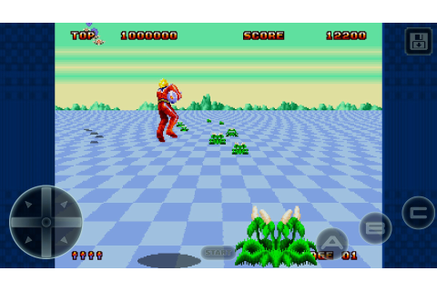Space Harrier II Classic - Android games - Download free ...