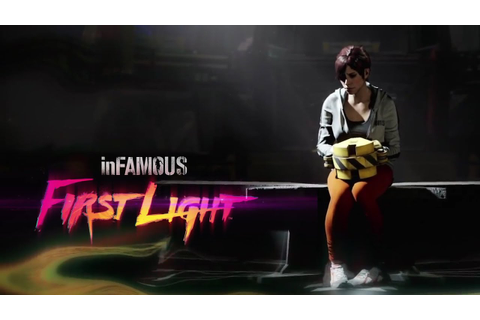 InFAMOUS First Light - E3 2014 // Trailer [ VOSTFr ] - YouTube